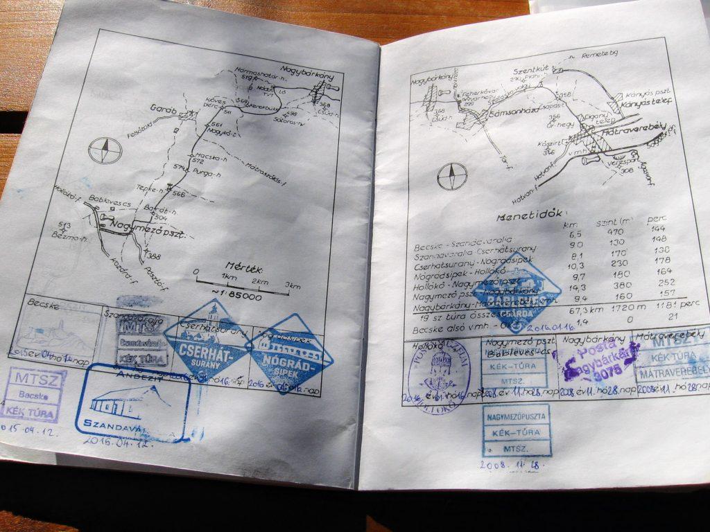 Országos Kéktúra igazolófüzet