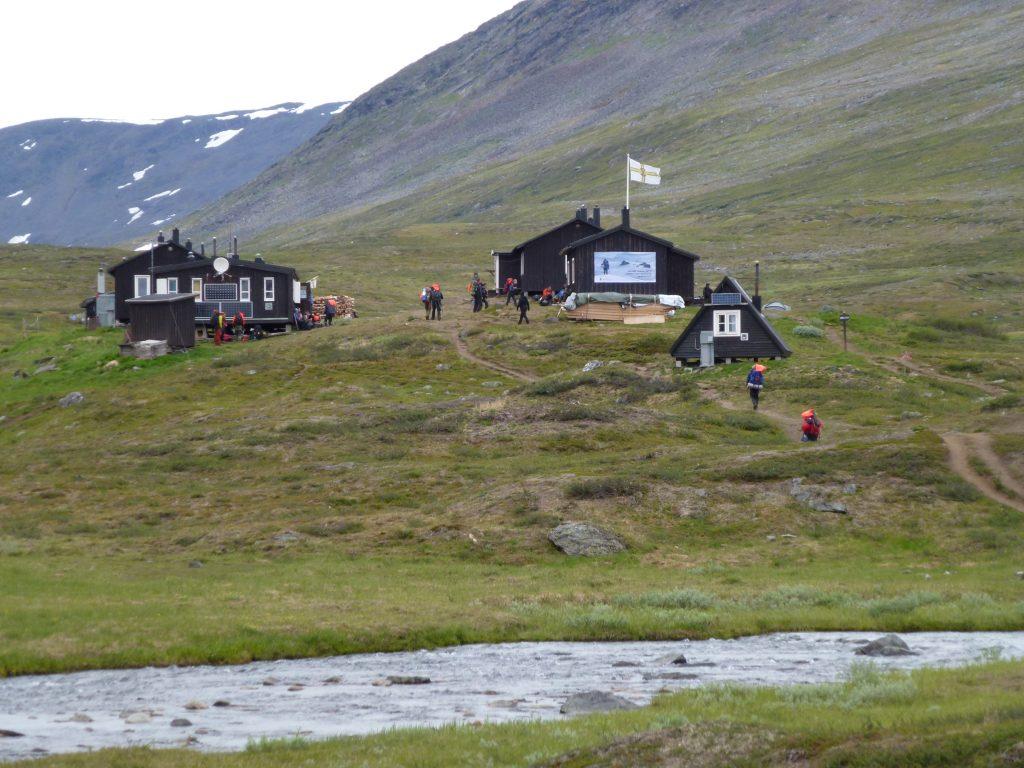 A sälka-i turistaházak